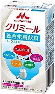 森永 栄養補助飲料 エンジョイクリミール ヨーグルト味 125ml×24本 高カロリー エネルギー