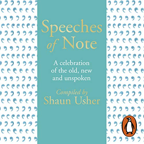 Speeches of Note audiobook cover art