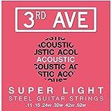 3rd Avenue Corde per chitarra acustica in bronzo fosforoso super leggero 11-52
