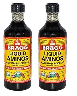 Bragg Liquid Aminos 16 Oz Pack of 2