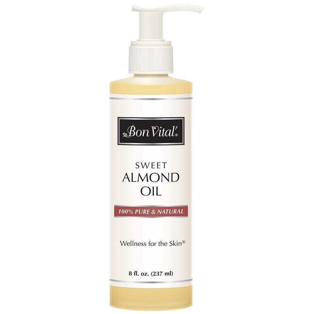 Bon Vital' Sweet Almond Oil Hair Mas Moisturizer Max 71% OFF Skin Same day shipping Gentle