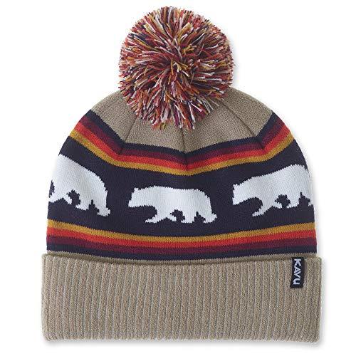 KAVU Herschel Pom Beanie - Ski Cap - Snow Bear