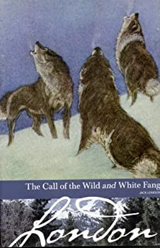Paperback The Call of the Wild and White Fang (Borders Classics) Book
