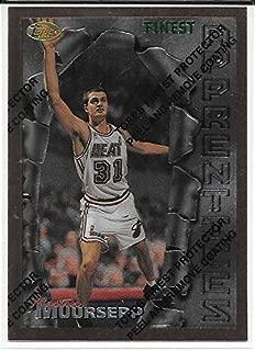 Martin Muursepp 1996-97 Topps Finest Bronze Miami Heat Card #11