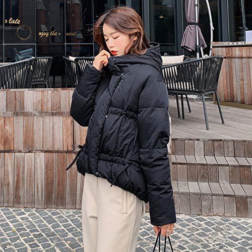 WFSDKN Parka 2019 Winterjack voor dames, korte hakken, brood, losse kleding