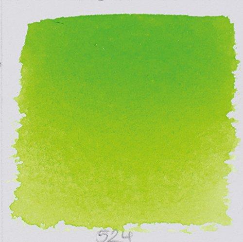 Schmincke 14524044 Watercolor Pans, May Green, Half Pan