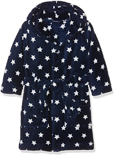 NAME IT Jungen NITVALUTO Bathrobe MZ Bademantel, Mehrfarbig (Dress Blues), 98