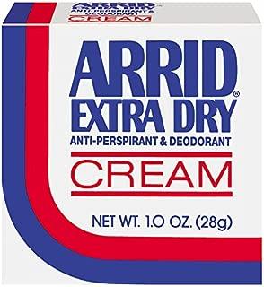 Arrid Extra Dry Anti-Perspirant Deodorant Cream 1oz. - Pack of 1