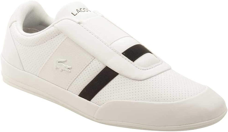 Lacoste Mens Misano Elastic 318 Leather Ortholite Casual shoes