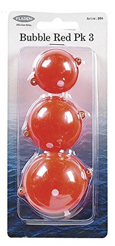 Fladen Assorted - Corchos/Flotadores/Anzuelos de Pesca, Color Rojo