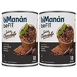 BiManán Pro - Batido Eco Chocolate, Pack de 1080 grs en Total - Batidos Sustitutivos de Comida - Hipocalórico e Hiperproteico con Vitaminas y...