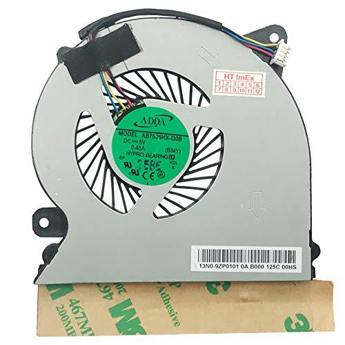 Lüfter Kühler Fan Cooler kompatibel für Medion Akoya MD98419, Akoya MD99080, Akoya s4216, Akoya S4216 (MD98487), Akoya S4216 (MD98634), Akoya S4216 (MD98745), Akoya S4216 (MD99081)