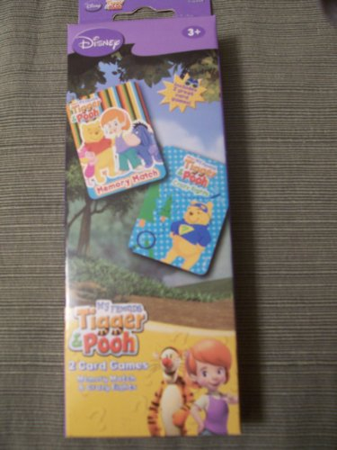 Disney My Friends Tigger & Pooh Memory Match and Crazy Eights
