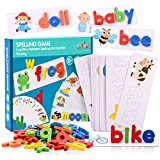 See and Spell Learning Toys, Matching Letter Spelling Game Sight Words Games Educational Preschool...