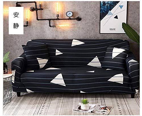 Funda Sofa Elastica Protector Adaptable,Funda de sofá elástica, funda de protección universal para muebles de cuatro estaciones, funda de sofá antideslizante impresa con todo incluido-2_235-300cm