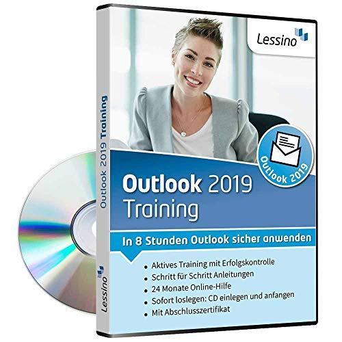 Outlook 2019 Training - In 8 Stunden Outlook sicher anwenden | Einsteiger und Auffrischer lernen mit diesem Kurs Schritt für Schritt die sichere Anwendung von Outlook [1 Nutzer-Lizenz]