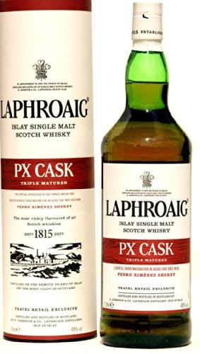 Laphroaig PX- Rarität aus dem Pedro Ximenez Sherry Fass