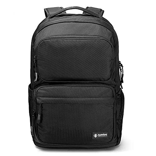 """tomtoc Mochila Protectora para Portátil, Backpack Impermeable de Viaje de Negocios, Ajusta MacBook Portátil de hasta 15,6"""" y 11"""" iPad Pro con Bolsillo Antirrobo y Puerto de Carga, 24L"""