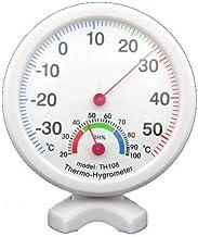 TOOGOO(R) Medidor de temperatura Termometro de humedad higrometro