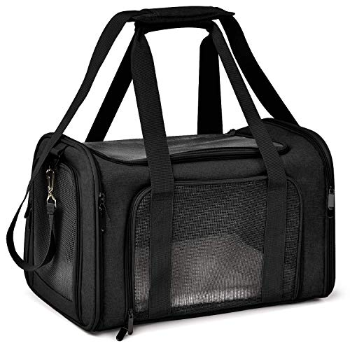 Henkelion Cat Carriers Dog Carrier Pet Carrier for Small Medium Cats Dogs Puppies up to 15 Lbs, TSA...