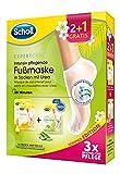 Scholl EXPERTCARE intensiv pflegende Fußmaske in Socken mit Urea – Sommer Promopack – 3 Paar Fußmasken (2 + 1 gratis)