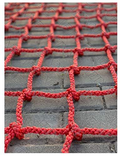 Red de escalada de carga para juegos de niños, red de escalada para juegos de niños, cuerdas de roca, juegos de columpios de escalada, nailon, camión, remolque, recipientes de red gigante H