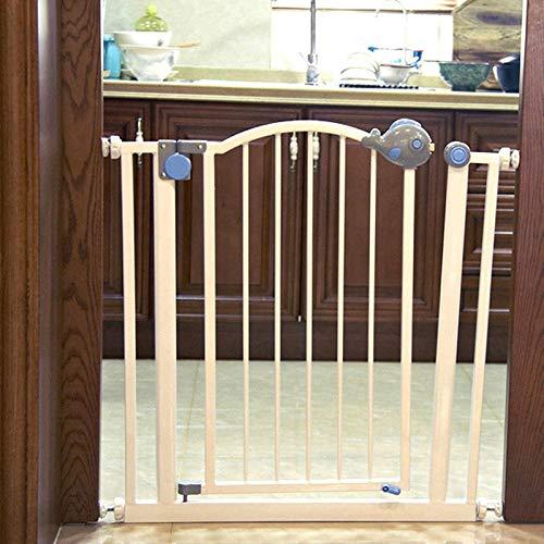 Huo Barrera de Seguridad del Bebé Puertas de Metal Extra Ancho for Escaleras Marco de La Puerta (Size : 141-147cm): Amazon.es: Hogar