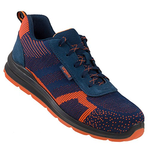 Arbeitsschuhe Sicherheitsschuhe Schuhe Stahlkappe URGENT 232 S1 Orange Dunkelblau TOP NEUHEIT ! (44 EU)