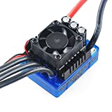 Crazepony-UK 120A Brushless ESC Electric Speed Controller with 6.1V/3A Bec for 1/8 1/10 RC Car Track