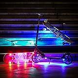STUSSKUR LED Skateboard Lights Underglow,Scooter Light,Electric Longboard Light,Skateboard Accessory,Skateboard Gift,Light for Skate Board,Long Board