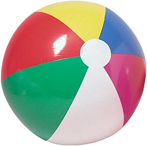 Economy 12  plage Ball (Pack of 12) by S&S TOY (English Manual)
