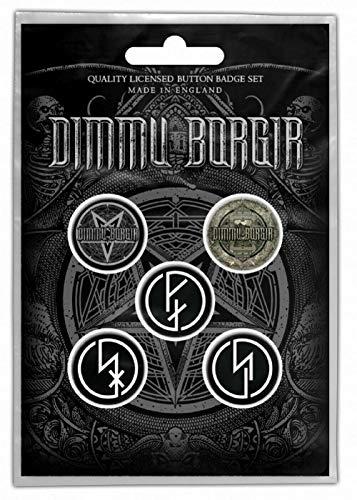 for-collectors-only Dimmu Borgir - Juego de 5 chapas Eonian