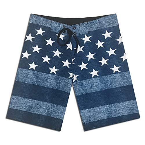 FRAUIT Heren 3D Star Printed strand casual shorts mannen korte broek zwembroek veelkleurig sneldrogend strandbroek vrije tijd beachshorts mode prachtig design