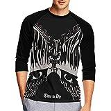 エレクトリック・ウィザード Time To Die メンズ Tシャツ 七分袖 快適 ファッション トレーナー インナーシャツ かっこいい