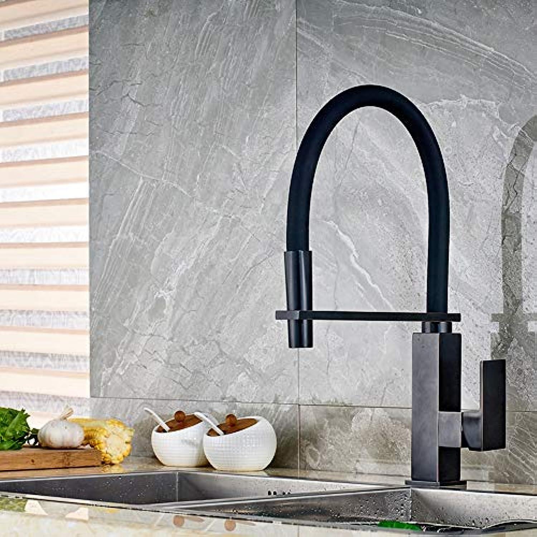 KUNHAN Küchenarmatur l Reiben Bronze Deck InsGrößetion Spüle Mischer Wasserhahn Einzigen Griff Einloch