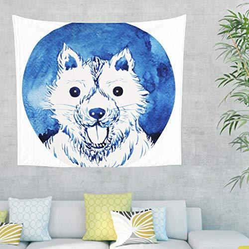 Charzee Cute Wolf Tapijt, kunst Bed Sheet Picnic Beach Sheet, kwaliteit hippie voor muur slaapkamer woonkamer decoratie