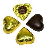 Cioccolatini Cuori Gialli Gianduia La Suissa Kg 1 - Praline di Cioccolato Fondente Ripieni...