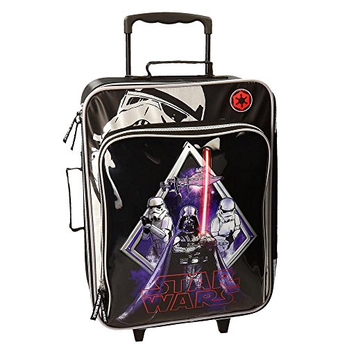 Star Wars Darth Vader Maleta de Cabina Blanda, 26 Lt, Color Negro