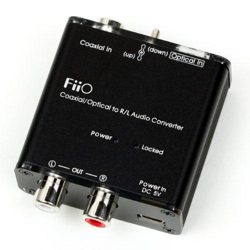 FiiO D3 Coaxial Optical to R L DAC Audio Converter