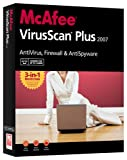 McAfee VirusScan Plus 2007 - 3 Users [OLD VERSION]