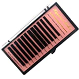 Eyelash Extension Individual Lashes Super Soft Silk Mink Eye Lashes 0.03 D mix Tray Deep Matte 100% Hand Made Beauty Tools HPNESS