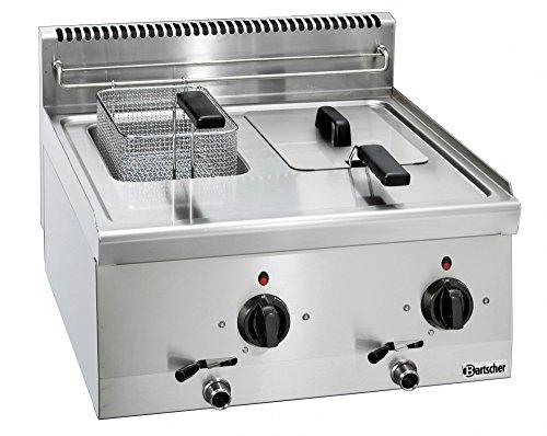 Friggitrice elettrica trifase 6 litri con rubinetto scarico - Bartscher 131413