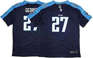 Nike Eddie George Tennessee Titans Game Day Alternate Navy Blue Youth Jersey