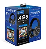 PDP - PDP - AG6 Wired Afterglow Auricular Gaming + GTA V Premium Edition (PlayStation 4) (PlayStation 4)