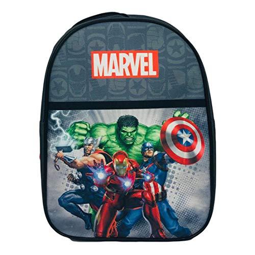 Zaino Scuola Bambino Avengers Iron Man Captain America Thor Hulk 28 x 22 x 10 cm