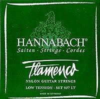 CUERDAS GUITARRA FLAMENCA - Hannabach (827/LT) Verde Suave (Juego Completo)