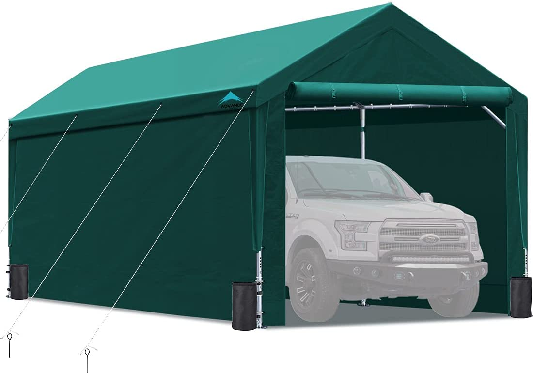 Upgraded 10x20 Ranking TOP5 ft Sale price Heavy Duty Sidewalls an Removable with Carport