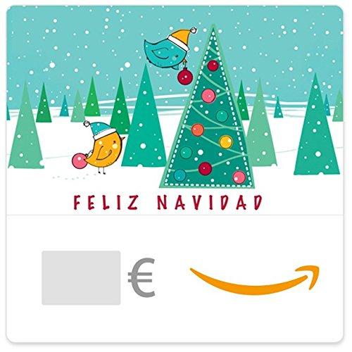 Cheque Regalo de Amazon.es - E-Cheque Regalo - Feliz Navidad (pajaritos)