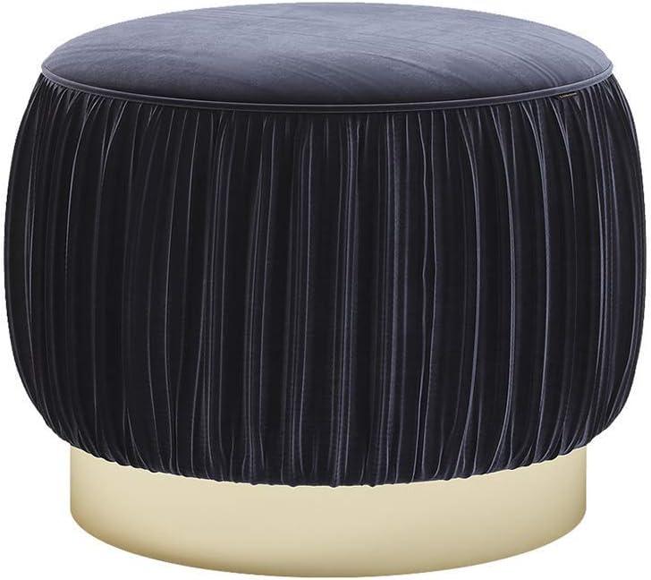 JIN Tabouret Pratique Maquillage Creative Ottoman Chaise Moderne Minimaliste Repose-Pieds Canapé Chaussures Changement Stoolhome Décoration, Salle de Bains 40X40Cm Tabouret,D B