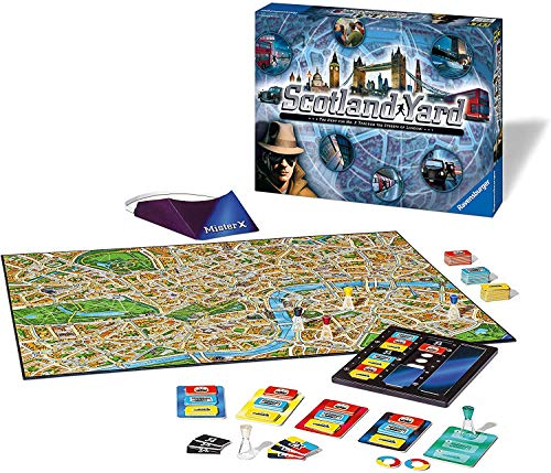 Ravensburger Scotland Yard Strategy Board Games for Families - Kids &...